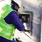 Tras la habilitación de la 2º Planta, comenzaron las conexiones a la red de gas domiciliario